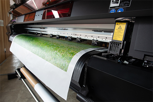 大型・特殊素材への印刷